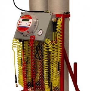 AP110 4-wheel nitrogen tire inflator equipment